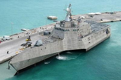 新濱海戰鬥艦奧馬哈號服役