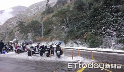 氣象局:1000公尺以上山區可能降雪