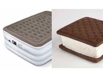 喝ㄎㄧㄤ上網買冰淇淋三明治 隔天送來靠O怎麼是床墊