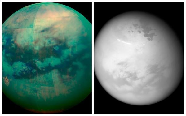 """土星卫星""""泰坦""""地貌像地球,表面甲烷湖泊、冰冷山丘"""