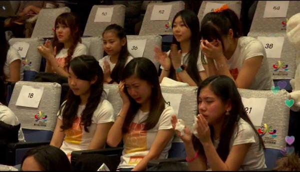 ▲陳致遠&秀琴的11歲女兒陳琳入選TPE48,成為日本女子天團AKB48的師妹。(圖/翻攝自Live.me直播)