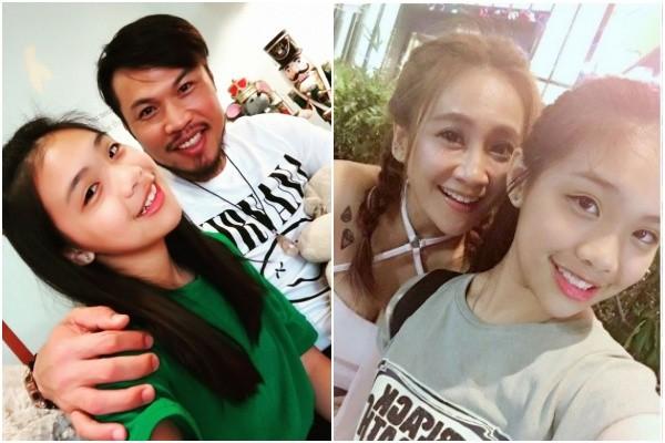 ▲▲TPE48一期生陳琳,是前職棒選手陳致遠和藝人秀琴的女兒。(圖/翻攝自臉書、秀琴提供)