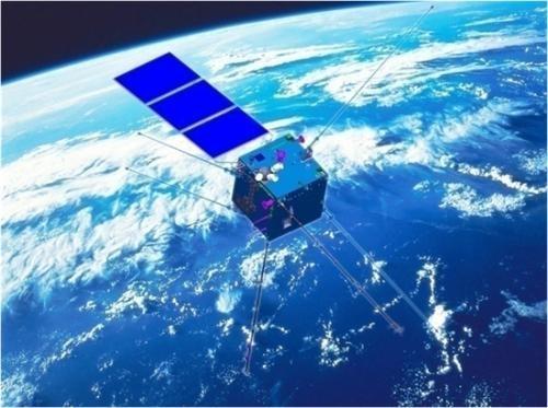 ▲▼酒泉衛星發射中心2月2日成功將電磁監測試驗衛星「張衡一號」發射升空。(圖/翻攝自新華網)