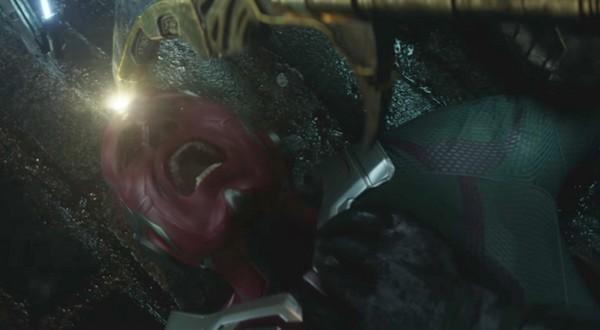 《复仇者联盟3》幻视可能存活! 新预告曝光3线索