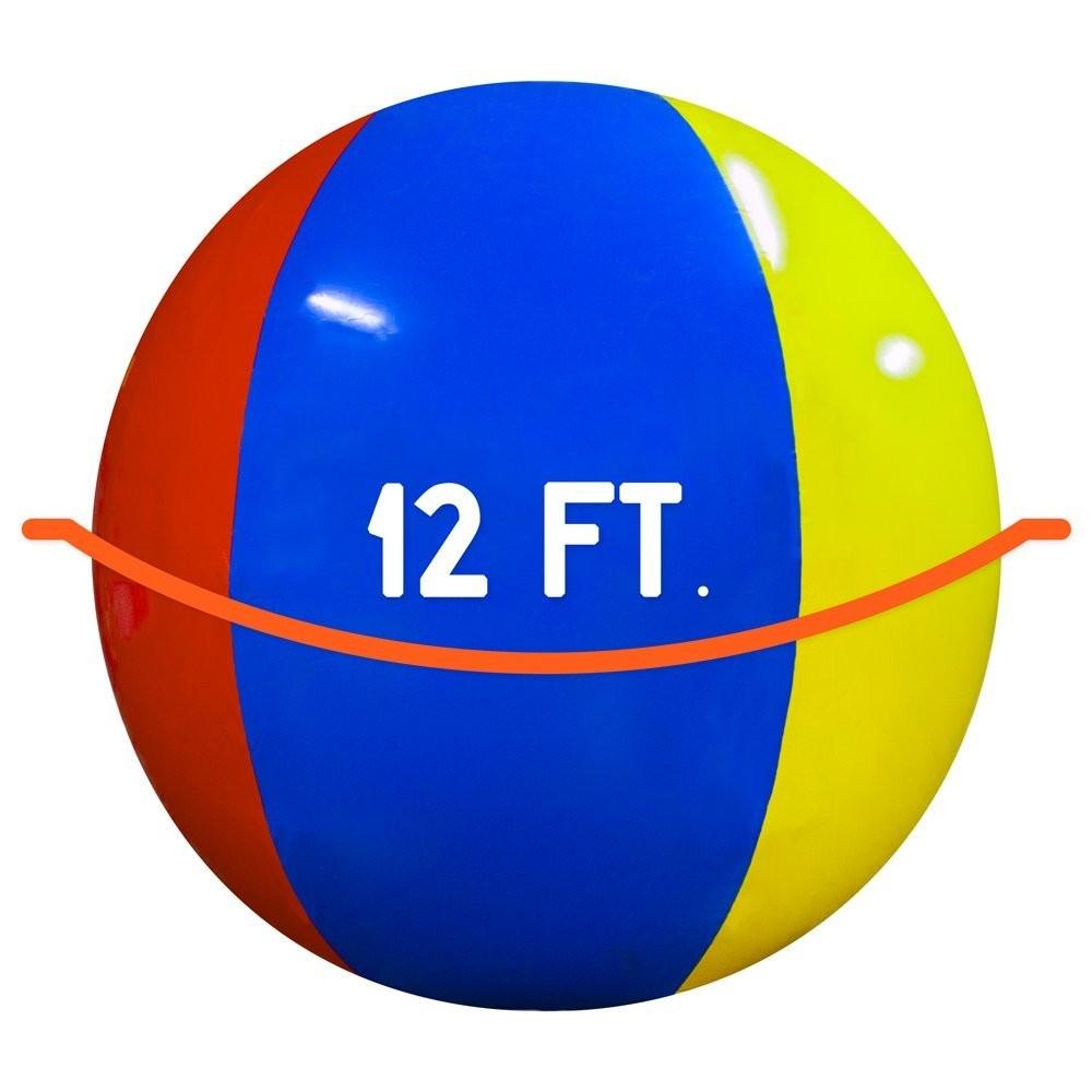 ▲▼亞馬遜超巨海灘球(圖/翻攝自亞馬遜)