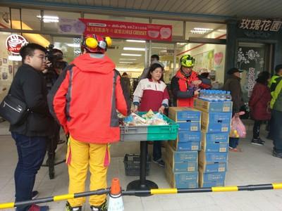 提供物資給花蓮救災人員 小7啟動5千家門市進行ibon募款