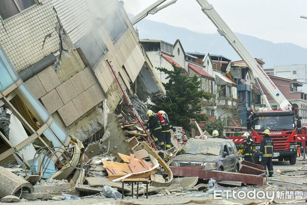 ▲▼206花蓮地震。(圖/記者張一中攝)