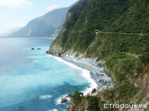 ▲曾入選台灣10大地景景點的清水斷崖。(圖/林務局提供)