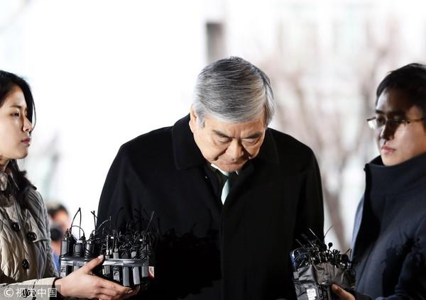 ▲▼大韓航空總裁現身替女兒道歉。(圖/CFP)