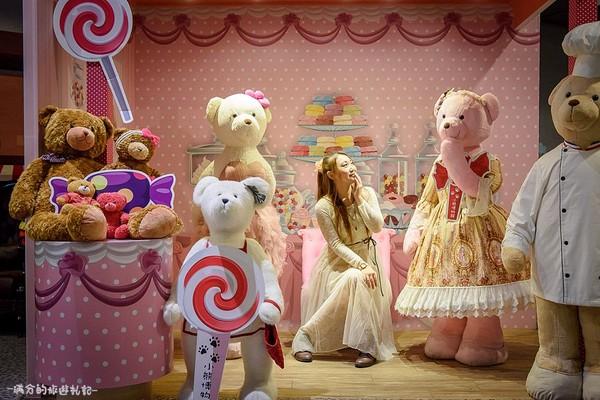 ▲全台首座泰迪熊博物館在新竹。(圖/滿分的旅遊札記提供)