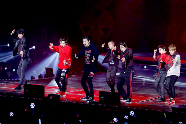 ▲EXO第四度來台開唱,EXO PLANET #4 The EℓyXiOn in Taipei 。(圖/超級圓頂提供)