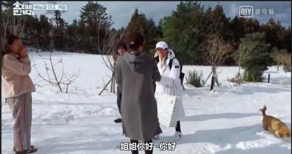 ▲朴寶劍現身《孝利家民宿2》。(圖/翻攝自愛奇藝台灣站)