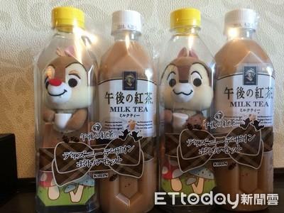 全日本僅東京有!午後的紅茶推超萌「奇奇蒂蒂」瓶裝玩偶