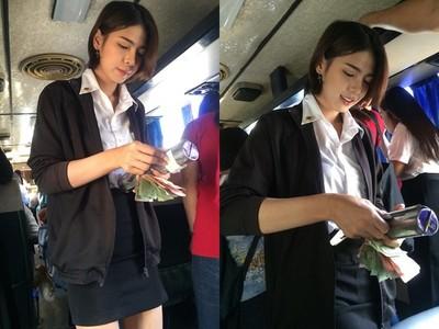 上公車驚見「最甜美售票員」 嬌聲問乘客目的地...想直達她心裡