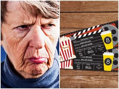 孝順媳帶婆婆看電影 回家卻遭翻臉逼離婚 全因「電影票免費」