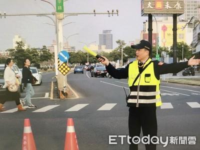 南警四分局全力交通疏導
