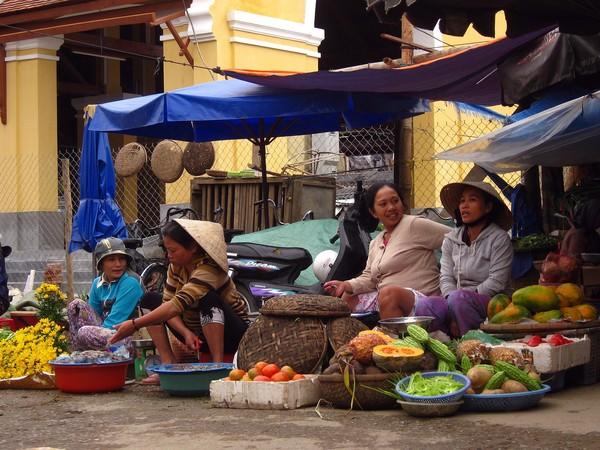 ▲▼ 越南,菜市場。(圖/Pixabay)