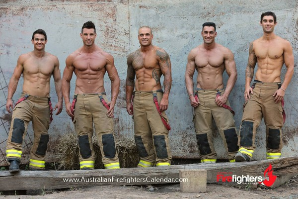 ▲性感男人職業(圖/翻攝自AustralianFirefightersCalendar FB)