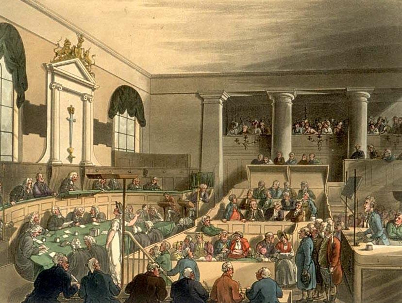 ▲▼古代英國法院(圖/翻攝自Wikipedia)