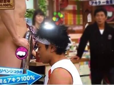 眼睛張開就是下體!「鼻接觸100%」緊貼全裸一根,日本人沒有極限