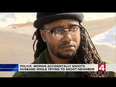 豬隊友幫倒忙?老公跟人幹架 妻子急拿槍助陣卻射到他大腿