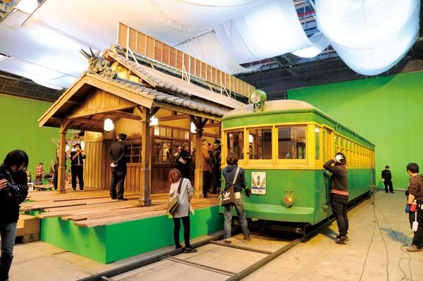 ▲▼《鎌倉物語》打造日本鎌倉著名的鐵路江之電。(圖/中影國際提供)
