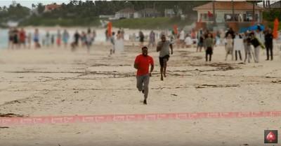 百米短跑中偷跑30公尺!凱文哈特有辦法打敗「牙買加閃電」嗎