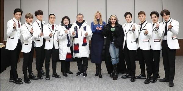 ▲美國第一千金伊凡卡指名見EXO。(圖/翻攝自伊凡卡推特)