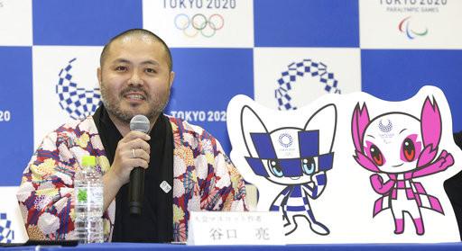 ▲▼東京奧運吉祥物出爐、設計師谷口亮。(圖/達志影像/美聯社)