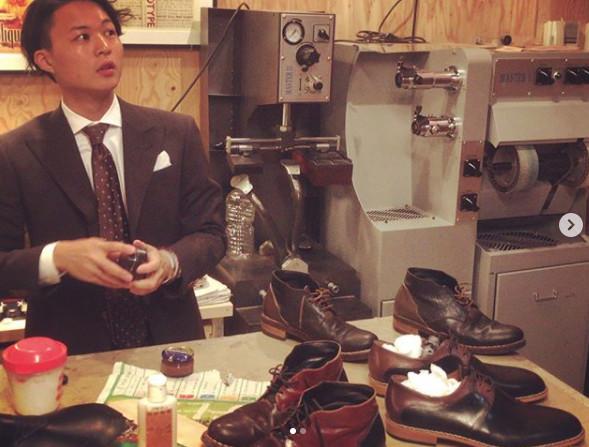 ▲花田優一年紀輕輕但學有所長,是一位製鞋師傅。(圖/翻攝自花田優一IG)