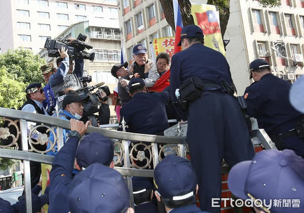 ▲▼反年改抗議。(圖/記者季相儒攝)