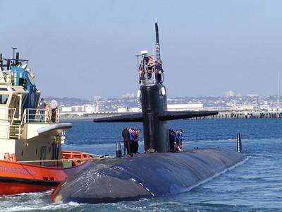 美軍潛艦訪菲 除役前最後訪問