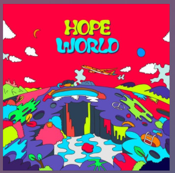 ▲j-hope《Hope World》。(圖/翻攝自BTS soundcloud)