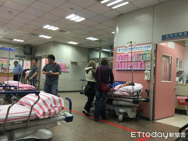 ▲▼醫院,急診室,看診,病床(圖/記者徐文彬攝)