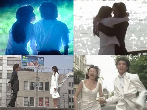 ▲木村拓哉、山口智子在《長假》大談姐弟戀,完結篇熱吻結婚創下高收視。(圖/翻攝自推特)
