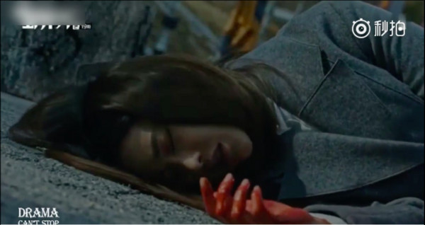 ▲《花遊記》「唐三藏」陳善美(吳漣序飾演)死在孫悟空(李昇基飾演)懷中。(圖/翻攝自tvN)