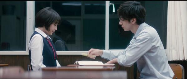 ▲《先生!我可以喜歡你嗎》廣瀨鈴挑戰弓道。(圖/翻攝自YouTube)