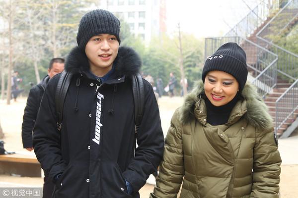 ▲「鰲拜」徐錦江18歲兒子徐菲。(圖/CFP)