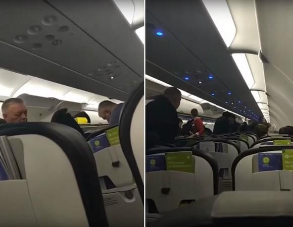 ▲▼俄羅斯男班機上性侵,遭5壯漢怒毆。(圖/翻攝自YouTube/Anna Liesowska)