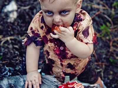側拍1歲兒啃食人腦!新手媽無辜被罵爆 血腥畫面藏感人內幕
