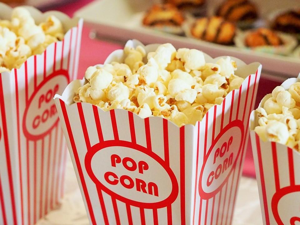▲爆米花,電影,熱量。(圖/取自免費圖庫Pixabay)