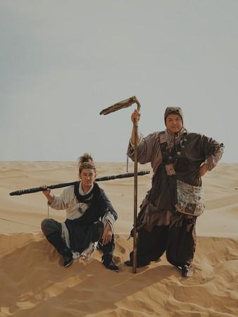 ▲▼《齊天大聖‧萬妖之城》陳浩民、林子聰。(圖/艾迪昇提供)