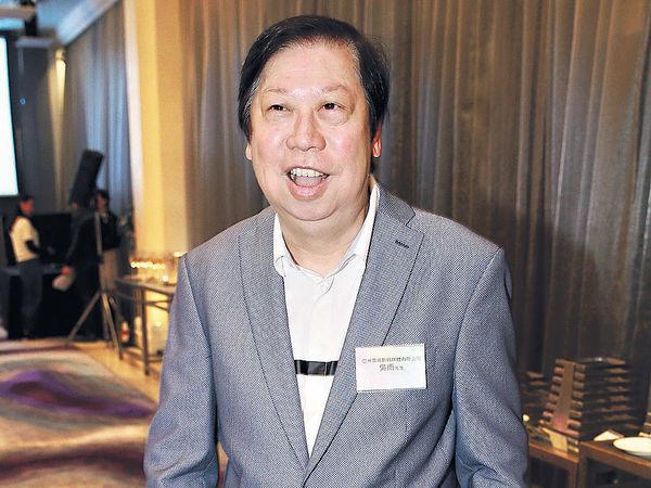 ▲香港亞視行政總裁吳雨。(圖/翻攝自晴報)