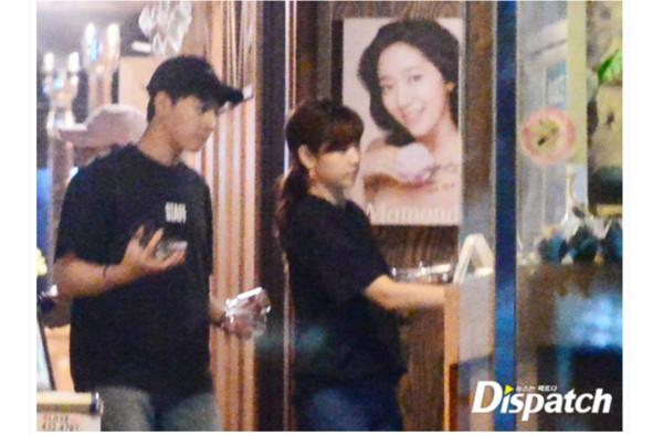 朴信惠、崔泰俊被D社打臉。(圖/翻攝自《Dispatch》)