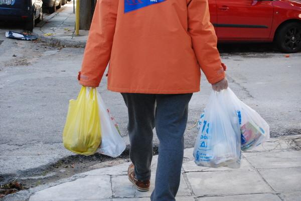 ▲▼ 塑膠袋,塑膠,限塑。(圖/達志影像/美聯社)