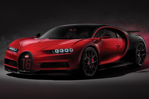 ▲日內瓦車展最貴新車是這部!Bugatti Chiron Sport更輕更快了。(圖/Bugatti)