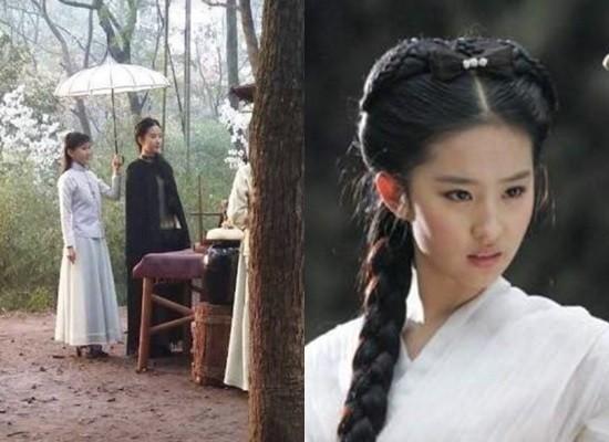 ▲劉亦菲新劇造型神似當年的小龍女。(圖/翻攝自新浪、YouTube)
