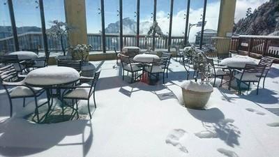 玉山、合歡山入冬首波初雪要來了