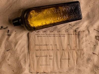 拾獲「全世界最古老」瓶中信 漂流了132年才被發現