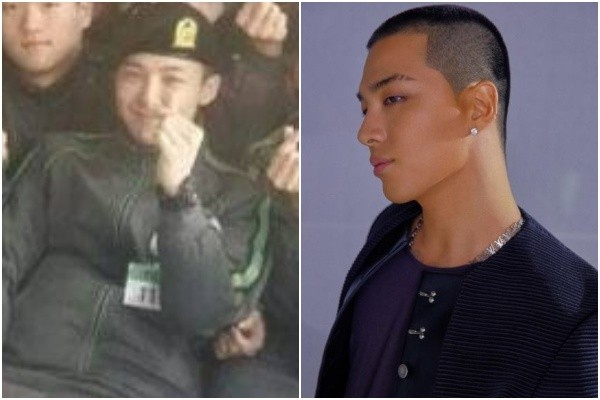 ▲▼G-Dragon(GD)軍中照片曝光。(圖/翻攝自韓網)